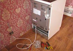Подключение электроплиты. Иркутские электрики.