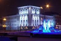 освещение фасадов в Иркутске
